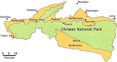 Chitwan-NP+bufferzone